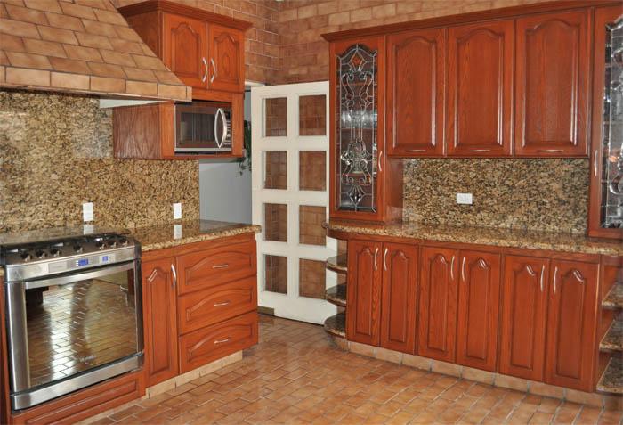 Cocinas for Ver puertas de madera